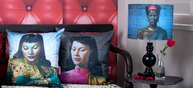 Tretchikoff Lifestyle - Cushion Covers and Lampshades