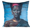 Tretchikoff Zulu Girl Cushion