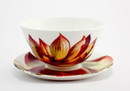 Tretchikoff Lotus Flower Bowl & Saucer