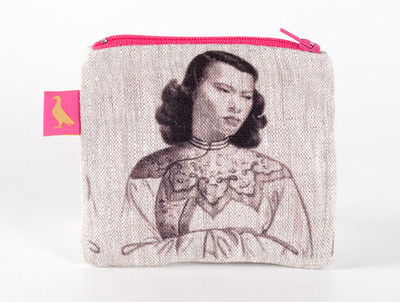 Tretchikoff Chinese Girl Monotone Coin Purse