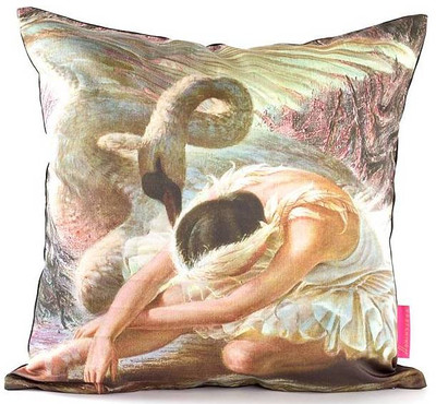 Tretchikoff 'Dying Swan' Cushion Cover 50x50cm