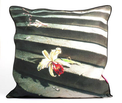 Tretchikoff Lost Orchid Linen Cushion 60 x 60cm