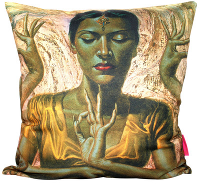 Tretchikoff Hindu Dancer Cushion