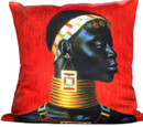 Tretchikoff Ndebele Woman Cushion