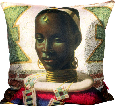 Tretchikoff 'Woman of Ndebele' Cushion 50x50cm