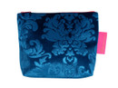 Tretchikoff Blue Velvet Lotus Cosmetic Bag