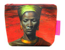 Tretchikoff Zulu Girl Red Sunset Cosmetic Bag