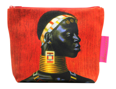 Tretchikoff Ndebele Woman Cosmetic Bag