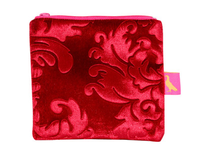 Tretchikoff Velvet Lotus Red Coin Purse