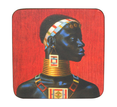Tretchikoff 'Ndebele Woman' Coaster