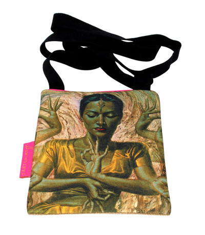 Tretchikoff Hindu Dancer Passport Bag