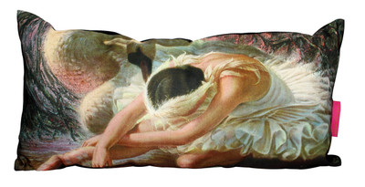 Tretchikoff Dying Swan Cushion cover - 30 x 60cm