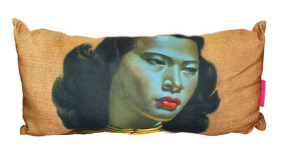 Tretchikoff Miss Wong Cushion cover - 30 x 60cm
