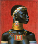 Ndebele Woman New Art Print