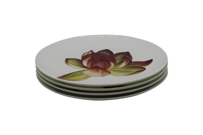 Set of 4 Tretchikoff 'Lotus Flower' Dinner Plates
