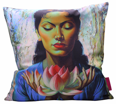 Tretchikoff 'Lady with Lotus' 50x50cm Cushion Cover