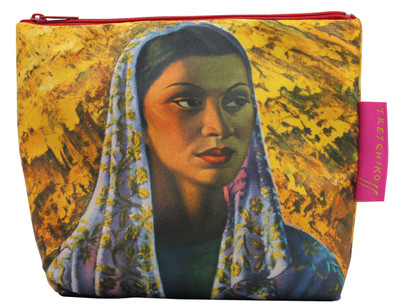 Tretchikoff 'Malay Bride' Cosmetic Bag