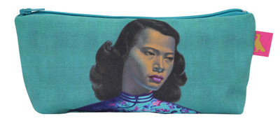 Tretchikoff 'Chinese Girl' Duck Egg Makeup Purse