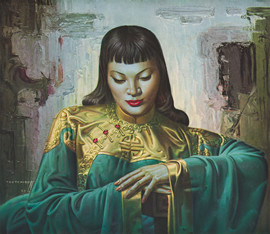 Tretchikoff Lady from Orient Print