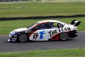 10003 - Steven Johnson Ford Falcon FG - Queensland Raceway Test Day 2010 - Photographer Craig Clifford