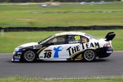 10004 - James Courtney Ford Falcon FG - Queensland Raceway Test Day 2010 - Photographer Craig Clifford