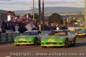 93013 - G. Waldon & A. Jones  / C. O Brien & G. Hansford  Mazda RX7S - 1993  Bathurst James Hardie 12 Hour- Photographer Lance J Ruting