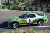 93014 - C. O Brien & G. Hansford  Mazda RX7S - 1993  Bathurst James Hardie 12 Hour- Photographer Lance J Ruting
