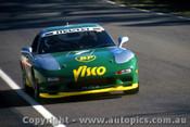 94018 - G. Hansford & N. Crompton Mazda RX7S - Hardie Ferodo 12 Hour Bathurst  1994 - Photographer Lance J Ruting