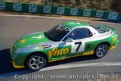 94022 - G. Hansford & N. Crompton Mazda RX7S - Hardie Ferodo 12 Hour Bathurst  1994 - Photographer Lance J Ruting
