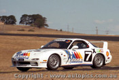 95022 - John Bowe and Dick Johnson Mazda RX7S SP  1995 Eastern Creek 12 Hour - Photographer Lance J Ruting