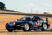 95023 - G. Waldon & M. Skaife  Mazda RX7S SP  1995 Eastern Creek 12 Hour - Photographer Lance J Ruting