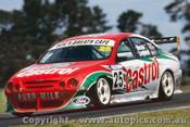 99719 - T. Longhurst / A. Macrow  Ford Falcon AU -  Bathurst FAI 1000 1999 - Photographer Craig Clifford