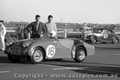 57429 - A. Jack Triumph TR3 - Fishermen s Bend 16th June 1957 - Photographer Peter D Abbs