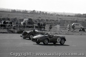 57430 - A. Jack Triumph TR3 & L. Craddock Morgan +4 - Fishermen s Bend 16th June 1957 - Photographer Peter D Abbs