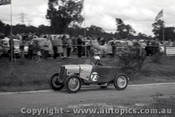 60910 - H. Hughes  Singer Le Mans - Templestowe Hill Climb 25th September 1960 - Photographer Peter D Abbs