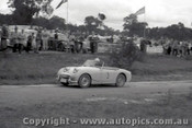 60913 - A. Hurst  Austin Healey Sprite - Templestowe Hill Climb 25th September 1960 - Photographer Peter D Abbs