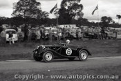 60916 - J. Caffin  MG TD - Templestowe Hill Climb 25th September 1960 - Photographer Peter D Abbs