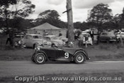 60917 - M. Steele   MG TC - Templestowe Hill Climb 25th September 1960 - Photographer Peter D Abbs