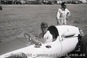 61519 - J. Roxburgh - Cooper Climax - Ballarat Air Strip 1961 - Photographer Peter D Abbs