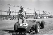 61523 - Innes Ireland Lotus 18 - Ballarat Air Strip 1961 - Photographer Peter D Abbs