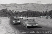 61537 - W. Nalder Falcon XK & H. Firth Porsche - Hume Weir - 13th March 1961 - Photographer Peter D Abbs
