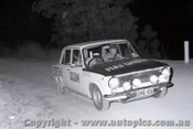 67835 - Fiat 124 - Southern Cross Rally 1967 - Photographer Lance J Ruting