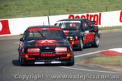87787  -  K.Ludwig /  K.Niedzwidz & S. Soper / P. Dieudonne Texaco Ford Sierra - Bathurst 1987