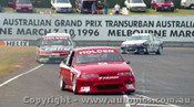 96018 - Mark Skaife  Holden Commodore  - Sandown  1996 - Photographer Peter D Abbs