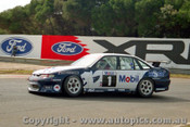96019 - Murphy /  Lowndes  Holden Commodore  - Sandown  1996 - Photographer Peter D Abbs