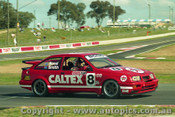 92731  - Colin Bond / John Smith - Ford Sierra RS500  -  Bathurst 1992 - Photographer Lance Ruting