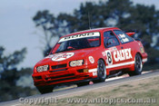 92736  - Colin Bond / John Smith - Ford Sierra RS500  -  Bathurst 1992 - Photographer Ray Simpson