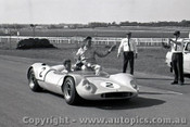 65471 -  Kevin Bartlett Mildren Maserati - Sandown 1965 - Photographer  Peter D Abbs