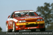 92026 - Mark Skaife  - Nissan GTR - Oran Park 1992 Photographer Ray Simpson