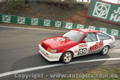 93740 - Steve Cramp / Denis Cribbin Toyota Corolla - Bathurst 1993 - Photographer Lance J Ruting